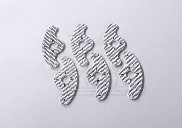 Волокно Двойной Удлинительный кронштейн Стекло Servo (6pic / мешок)