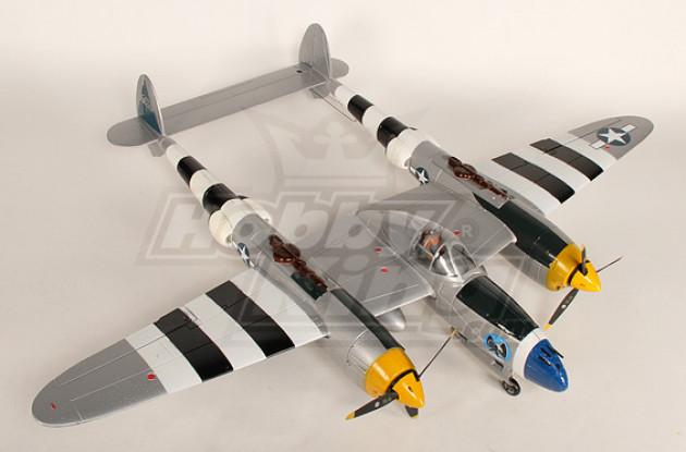1.4м EPO Warbird ж / втягивается Plug - & - Fly