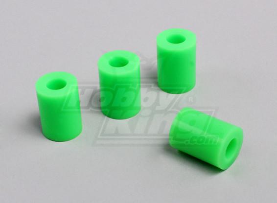 Круглый Heli Посадка Pad - 7 мм (зеленый)