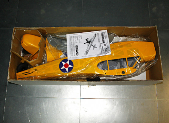 СКРЕСТ / СТОМАТОЛОГИЯ - Piper J-3 Cub Бало GP / EP 1620mm (ARF)