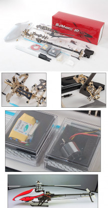 SJM 400II Extreme 3D ARTF Kit ж / Motor & ESC