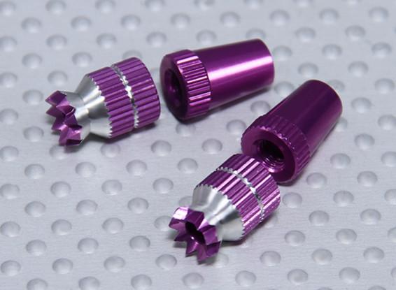 Сплав Anti-Slip Control TX Палочки Short (Futaba TX фиолетовый)