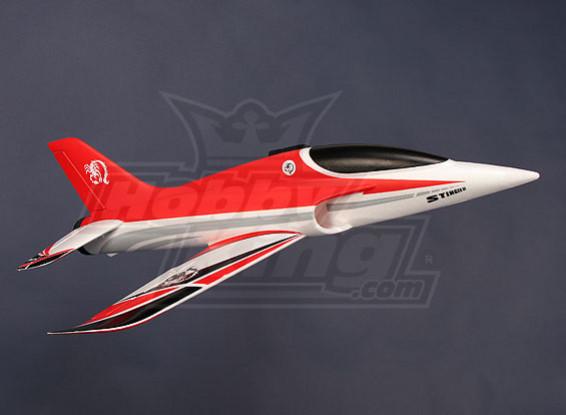 Стингер 64 EDF Sport Jet 700mm Красный EPO (ПНФ)
