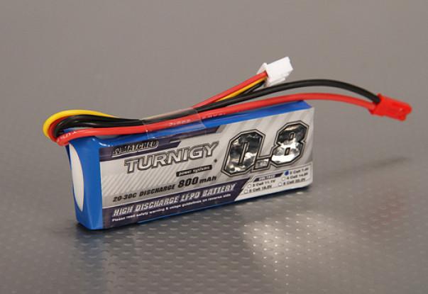 Turnigy 800mAh 2S 20C Lipo Длинный пакет