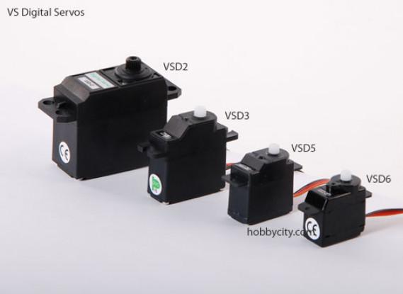 VSD-6 Цифровой сервопривод 6,0 г / .6kg / .10sec