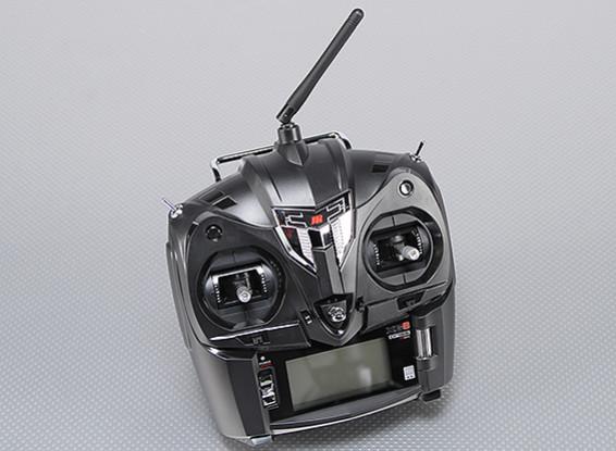 JR XG6 6-канальный 2,4 DMSS передатчик ж / RG631B приемник (режим 2)