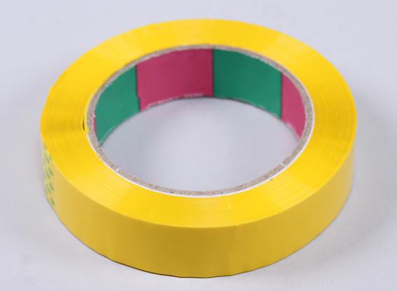 Крыло ленты 45mic х 24 мм х 100 м (узкий - желтый)