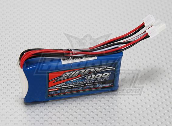 Zippy Flightmax 1100mAh 6.6v LiFePo4 2S1P приемник обновления