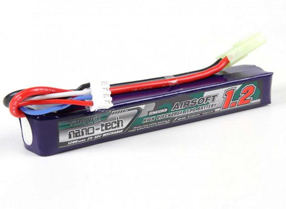 Turnigy-nano-tech-1200mAh-3S-25-50C-Lipo-AIRSOFT-Pack-Battery-9210000101