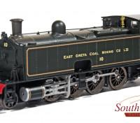 "Southern Rail HO Scale South Maitland Railways Class 10 2-8-2 Steam Locomotive ""East Greta Coal Mining Co Ltd"" DCC Ready (1912-1922)"