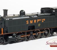 "Southern Rail HO Scale South Maitland Railways Class 10 2-8-2 No 17 Steam Locomotive ""SMR PTY Ltd"" DCC Ready (1982-1987)"