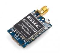 Quanum Elite QE66-25H 5.8GHz 25mW 40ch Wireless AV Transmitter (Horizontal SMA Antenna) NTSC/PAL
