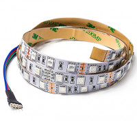 RGB LED Flexible Strip with 4-pin Driver Connector 1m (Red/Green/Blue)