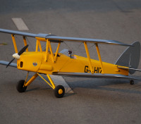 "H-King Cambridge Flying Groups de Havilland DH82a Tiger Moth 1400mm (55.1"") (ARF)"