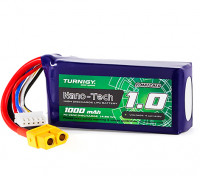 Turnigy Nano-Tech 1000mAh 4S 70C Lipo Pack w/XT60 (HR Technology)