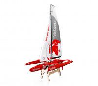 Thunder Tiger Volans 1m Trimaran Racing Yacht Kit