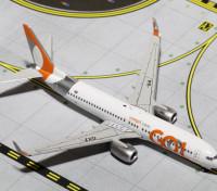 Gemini Jets GOL Transporters Boeing 737-800w (New Livery) PR-GXZ 1:400 Diecast Model GJGLO1535