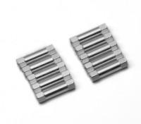 Легкий алюминиевый круглого сечения Spacer M3x20mm (серебро) (10шт)
