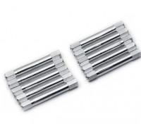 Легкий алюминиевый круглого сечения Spacer M3x37mm (серебро) (10шт)