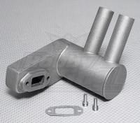 Питтс Глушитель для 50cc ~ 56cc газового двигателя