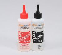 Quick-Cure 5 мин эпоксидный клей 9. унций