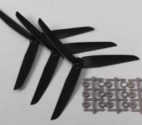 Hobbyking ™ 3-лопастной пропеллер 7x3.5 Black (КОО) (3шт)