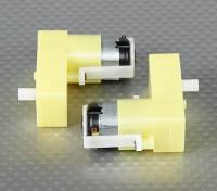 Редукторный двигатель - Смещение вала (2Pcs / мешок)