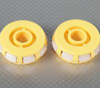 51x17mm Пластиковые Omni колеса (2шт / мешок)
