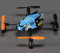 Q-BOT Micro Quadcopter ж / 2.4GHz RF модуль (Spektrum / JR / Futaba совместимый)