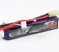 Turnigy нано-технологий 1000mAh 3S 20-40C Липо AIRSOFT пакет