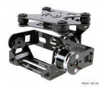 Амортизирующие 2 Axis Brushless Gimbal для DJI Phantom - Carbon Fiber Версия