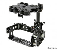 Амортизирующие 2 Axis Бесщеточный Gimbal комплект для камер Тип карты - Стекловолокно Version