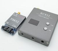 SkyZone 5.8G 600mW 32ch FPV Wirless AV Tx & Rx Set TS832 и RC832
