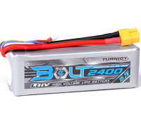 Turnigy Болт 2400mAh 4S 15.2V 65 ~ 130C высокого напряжения LiPoly Pack (LiHV)