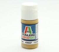 Italeri Акриловая краска - Плоский камень Средний