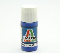 Italeri Акриловая краска - Плоский Средний Синий