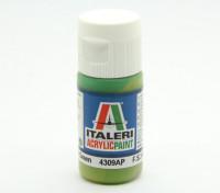 Italeri Акриловая краска - Плоский светло-зеленый
