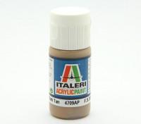Italeri Акриловая краска - Flat Dark Tan