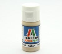 Italeri Акриловая краска - Плоский Песок