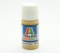 Italeri Акриловая краска - Плоский залив Arm Песок