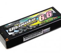 Turnigy нано-технологий Окончательный 6600mAh 2S2P 90C Hardcase Липо Pack (ЕДОР & BRCA Approved)