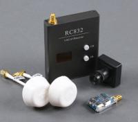Skyzone штепсельной вилки & Play FPV 200-Set С TS5823 TX, RX, RC832 Sony CCD и антенны с круговой поляризацией