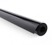 Покрытие пленки Сплошной черный (5mtr) 114
