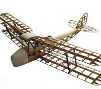 De Havilland Tiger Moth DH82a Биплан 1400мм Laser Cut Бало (Kit)