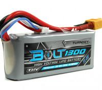 Turnigy 1300mAh 3S Болт 11.4V 65 ~ 130C высокого напряжения LiPoly Pack (LiHV)