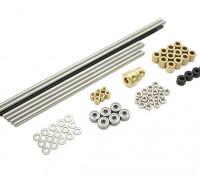 Turnigy Mini Fabrikator 3D v1.0 принтер Запасные части - Металл Комплект 1