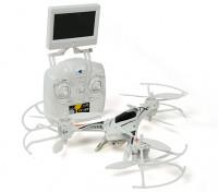 CX-33 Tricopter ж / 5.8GHz Tx, монитор, HD-камера, 2,4 ГГц Режим 1 / Режим 2 Переключаемый Tx (RTF)