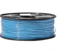 HobbyKing 3D Волокно Принтер 1.75mm PLA 1KG золотника (светло-голубой)