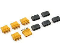 MR30 - 2.0мм 3 Pin Мотор ESC Connector (30A) Женщины только (5 комплектов / мешок)