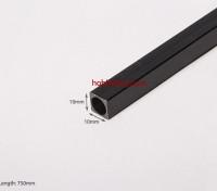 Углеродные волокна Square Tube 750x10mm